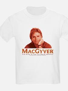 MacGyver: Reddish T-Shirt