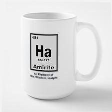 Amirite Large Mug
