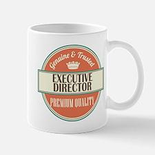 executive director vintage logo Mug