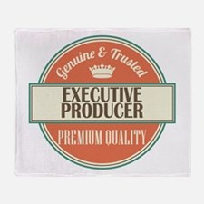 executive producer vintage logo Throw Blanket
