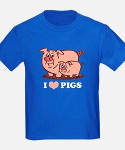 I Love Pigs T