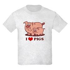 I Love Pigs T-Shirt