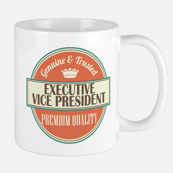 executive vice president vintage logo Mug