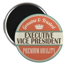 executive vice president vintage logo Magnet