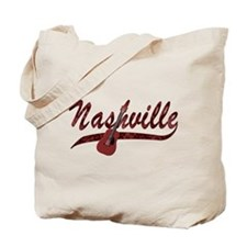 Nashville Guitar-07 Tote Bag