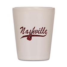 Nashville Guitar-07 Shot Glass