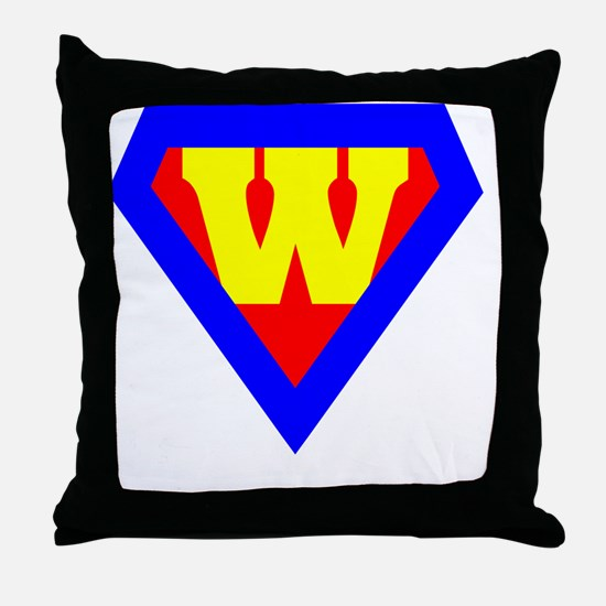 Funny Woman Throw Pillow