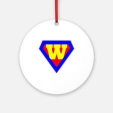 Wonder Woman Round Ornament