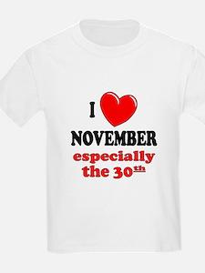 November 30th T-Shirt