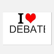 I Love Debate Postcards (Package of 8)