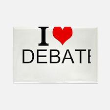 I Love Debate Magnets