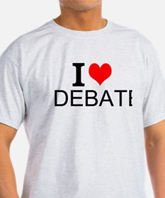 I Love Debate T-Shirt
