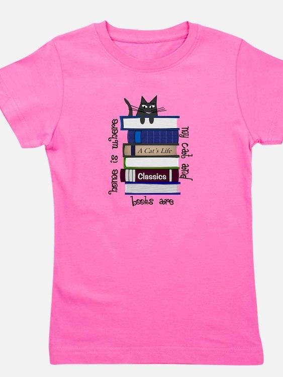 Cute Ebooks Girl's Tee
