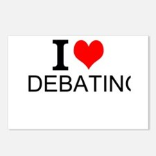 I Love Debating Postcards (Package of 8)