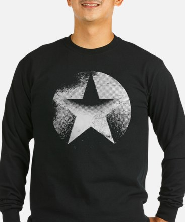 Distressed Long Sleeve T-Shirt