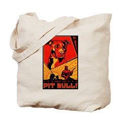 Obey the Pit Bull! Tote Bag