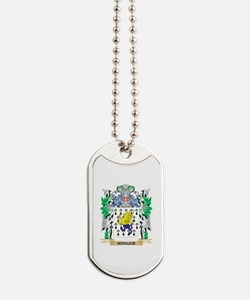 Hanger Coat of Arms (Family Crest) Dog Tags
