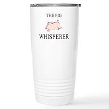 Unique Pig cartoon Travel Mug