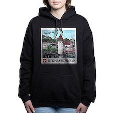 Cute Scenic Women's Hooded Sweatshirt