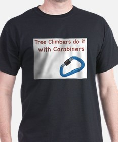 Funny Climb to safety T-Shirt