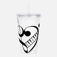 What the F? Treble wit Acrylic Double-wall Tumbler