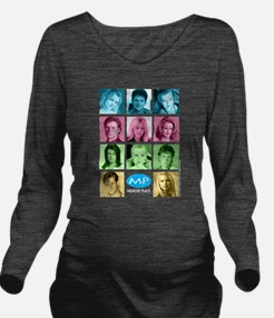 Melrose Place Cast Long Sleeve Maternity T-Shirt