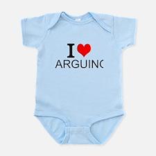 I Love Arguing Body Suit