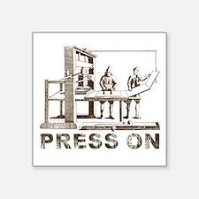 Press On Sticker