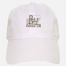 Press On Baseball Baseball Cap