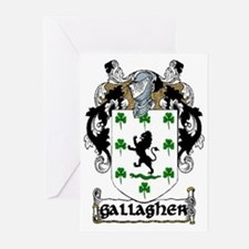 Gallagher Coat of Arms Greeting Cards (Pk of 20)