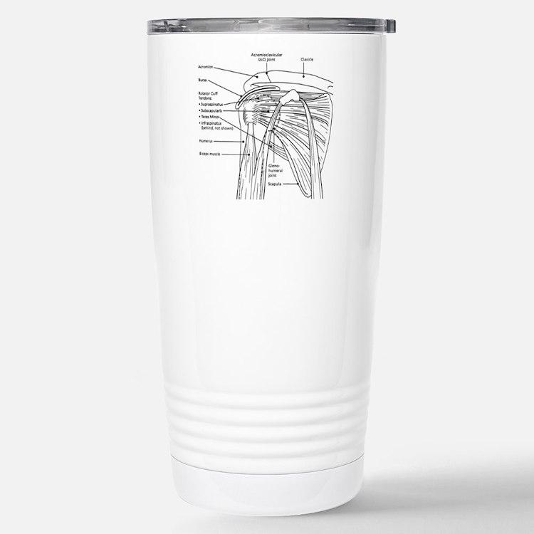 Cute Shoulder Travel Mug