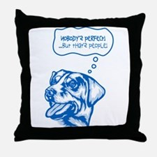 Entlebucher Mountain Dog Throw Pillow