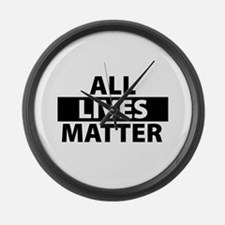 All matter Large Wall Clock