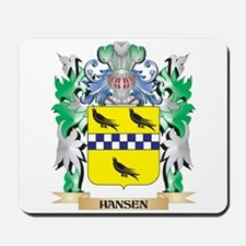 Hansen Coat of Arms (Family Crest) Mousepad