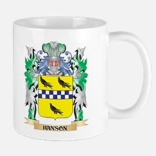 Hanson Coat of Arms (Family Crest) Mugs