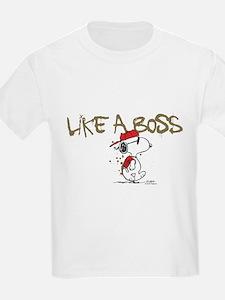 Peanuts Snoopy Like A Boss T-Shirt