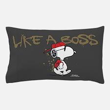Peanuts Snoopy Like A Boss Pillow Case