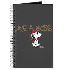 Peanuts Snoopy Like A Boss Journal