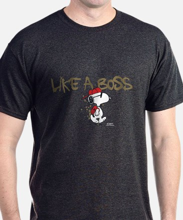 Peanuts Snoopy Like A Boss T-Shirt