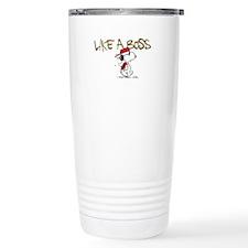 Peanuts Snoopy Like A B Stainless Steel Travel Mug