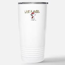 Peanuts Snoopy Like A B Travel Mug