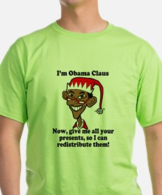 Cute Obama holiday T-Shirt