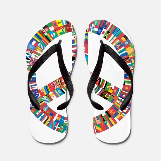 Peace to All Flip Flops