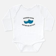 Unique Dutch Long Sleeve Infant Bodysuit
