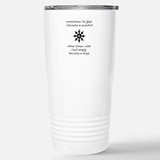 Cute Scientist ninja Travel Mug