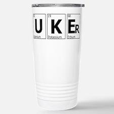 Unique Ukulele player Travel Mug
