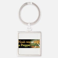Cute Noah Square Keychain