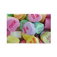 Candy Hearts Magnets