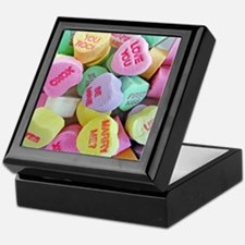 Candy Hearts Keepsake Box