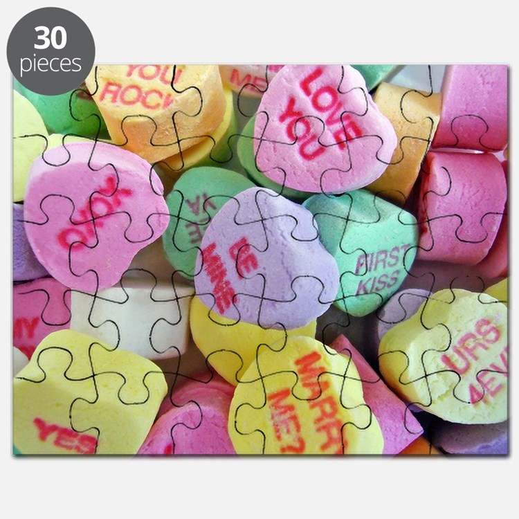 Candy Hearts Puzzle